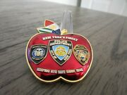 Nypd Transit Police Ipa Region 2 Nyc Welcome To The Big Apple Challenge Coin
