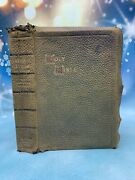 Holy Bible Self Pronouncing Teacher Edition Red Letter Bagster Leather 1901