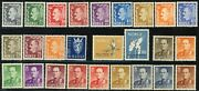 Norway Postage Stamp Collection Europe Norge Mint Lh Nh Og