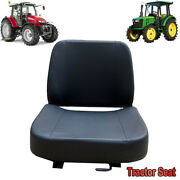 Universal Garden Lawn Mower Seat With Sliding Track Tractor Forklift Soft Seat