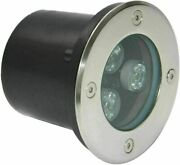 3w Led Inground Recessed Garden Buried Light For Pathway Patio Waterproof Ip67