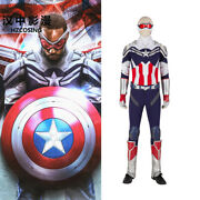 Hzym The Falcon Cosplay New Captain America Costume Armor Suit Halloween Outfit