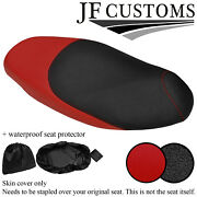 Dsg 3 Grip And D Red Vinyl Custom For Aprilia Sportcity Cube 06-13 Seat Cover+wsp