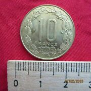 Central Africa Central African States 10 Francs 1974-2003 Km9 Various Years