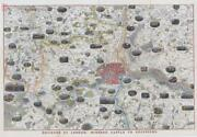 1851 - Large Antique Map Print Environs Of London Windsor Castle To Gravesend