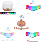Colorful Rgb Light With White Remote Control Aromatherapy Oil Diffuser