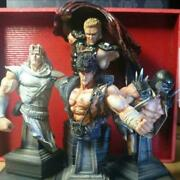 Fist Of The North Star Bust Collection Hokuto Four Brothers Second Version