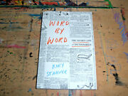 Rory Stamper Word By Word The Secret Life Of Dictionaries 2018 Vintage 8vo Sc Nf