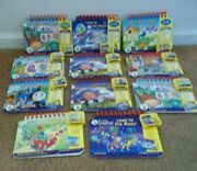 Leap Frog My First Leap Pad Games Cartridges And Book Preschool. Lot Of 11