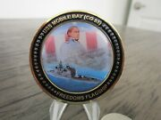 Usn Uss Mobile Bay Cg 53 Freedoms Flagship Cpo Challenge Coin 812h