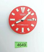 Used Seiko Movement Aftermarket Superlume Dial And Hands 6309 7290 Watch Bvt04649