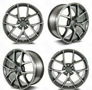 20 New Amg Style Gunmetal Wheels Rims Fits Mercedes Benz S Class S430 S500 S550
