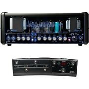 Hughes And Kettner Grandmeister Deluxe 40w 4-ch Tube Guitar Head Amp And Midi Pedal