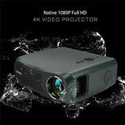 8500lumen Led Projector Smart Home Theater 4k Native 1080p Full Hd Home Video Us