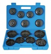 6x Oil Filter Wrench Sets Cup Type - 15 Piece Laser 3222 New Multibuy Saver