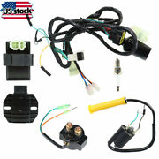 Cdi Ignition Coil Spark Plug Wire Harness Assy For Honda Sportrax 400 Trx400ex