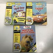 Leap Frog My First Leap Pad Preschool Game Cartridges Books Lot 3
