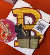 Westland The Wizard Of Oz Letter B Yellow Brick Road Alphabet Toto Dog 17022