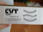 Central Valley Models 2001 Ho Mainline Tie Strips 50 Back Rm