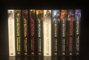 Set Of 10 Dresden Files First Edition Hardcover Books By Jim Butcher