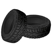 2 X New Toyo Open Country R/t Lt295/55r22/10 Tires