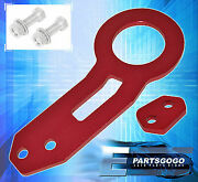 For Acura Tl Cl Tsx Lexus Gs300 Gs350 Vip Aluminum Rear Tow Hook Heavy Duty Red