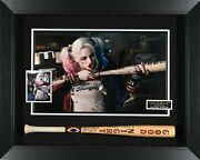 Margot Robbie Autographed Harley Quinn Suicide Squad Movie Display