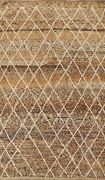Thick-plush Tribal Moroccan Berber Handmade Oriental Area Rug Wool Carpet 7and039x11and039