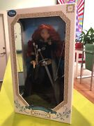 Disney Store Limited Edition Brave Merida Doll 17 Inch New In Box