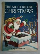 The Night Before Christmas A Big Golden Book
