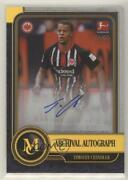 2019 Topps Museum Collection Bundesliga Archival Gold /50 Timothy Chandler Auto