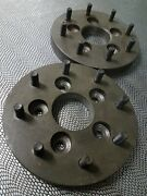 2 5x4.5 To 8x6.5 Wheel Adapters 1 Spacers 5 To 8 Lug Vintage Steel Usa Hot Rod