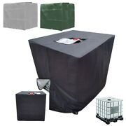 1 Set Water Tank Cover Cover Cases Protection For Ibc Tank 1000l Insulating Foil