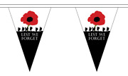 Lest We Forget Army Triangle Bunting 12 Flags On This 5 Meter Long Bunting