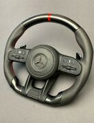Mb G Wagon 2015+ S Cls W222 W217 W463a Steering Wheel Carbon Leather