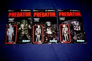 Reaction Funko Predator Unmasked Invisible Unpunched 3.75 Inch Action Figures