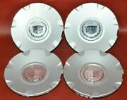 2004-2009 17 Cadillac Cts Sts Center Caps Oem 9595438 Set Of 4 Hubcaps