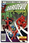 Daredevil 174-comic Book Marvel Elektra Issue 1st Appearance Of The Hand.
