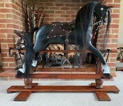 And039opaland039 Newly Repainted And Refurbished Old Rocking Horse - Free Delivery