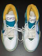 Nike Uptempo Pro Cp3 New Orleans Exclusive Promo Sample Pe Size 12.5 Game Worn