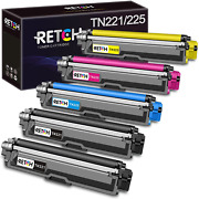Retch Compatible Toner Cartridges Replacement For Brother Tn221 Tn225 For Mfc-91