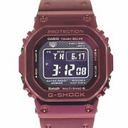 Casio Menand039s Watches G-shock Gmw-b5000rd-4jf Bluetooth Equipped With No.7567