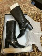 Channel Boots Black Free Shipping No.8053