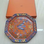 Hermes Plate Rare Items Free Shipping No.2523