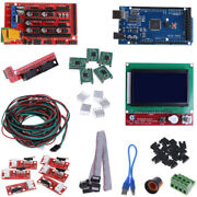 Cnc 3d Printer Kit With Mega 2560 Board Ramps 1.4 Controller Driver For Arduino