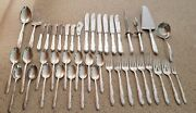 43 Pieces Of Towle Madeira Sterling Silverware - Post 1940