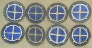 8 Wwii Us Army 35th Infantry Division Patches