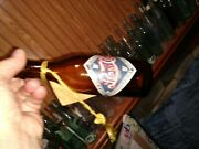 Amber 1973 Reproduction Pepsi Cola New Bern Nc Bottle Embossed Labeled