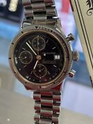 Hamilton 9304 Valjoux 7750 Chronograph Automatic Date 39mm Stainless Men's Watch