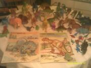 Huge Collection Of Plastic Dinosaurs And 2 Tray Puzzles